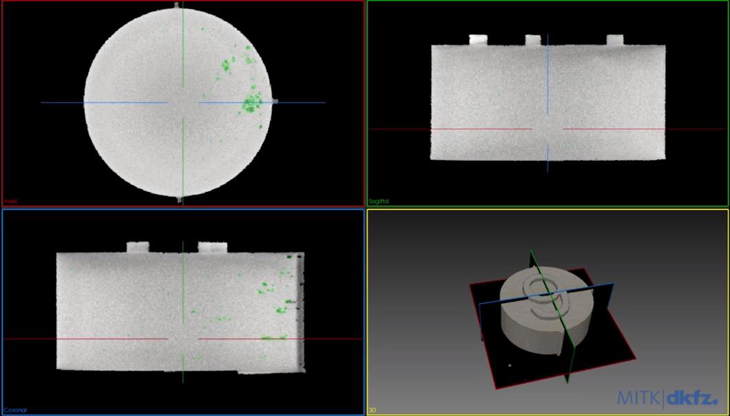 Blick in die neue Software: Schicht für Schicht und in 3D lässt sich das Bauteil auf Fehler prüfen